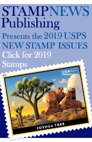 Link to Stamp News Now for the USPS 2019 Stamp Issues!