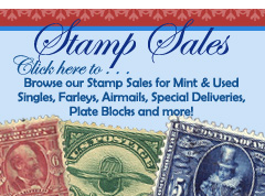 Stamp Sales on Stamp News Now